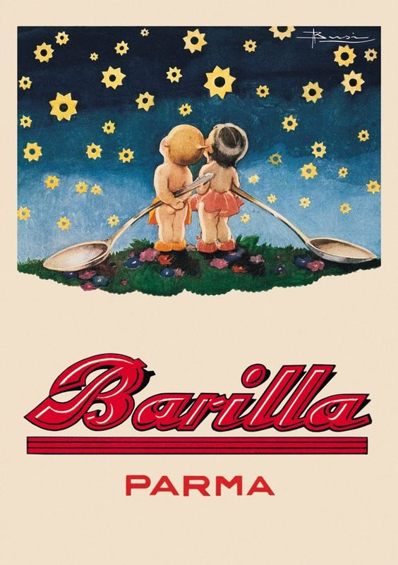manifesto barilla